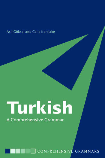 Turkish: A Comprehensive Grammar book cover