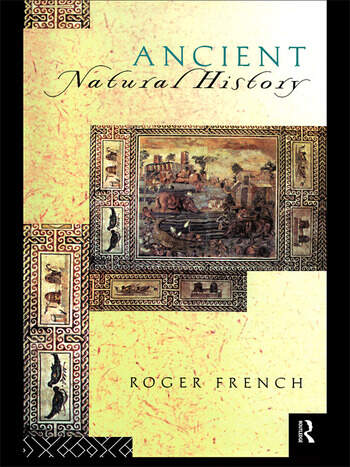 Ancient Natural History Histories of Nature book cover