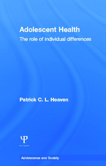 Adolescent Health The Role of Individual Differences book cover