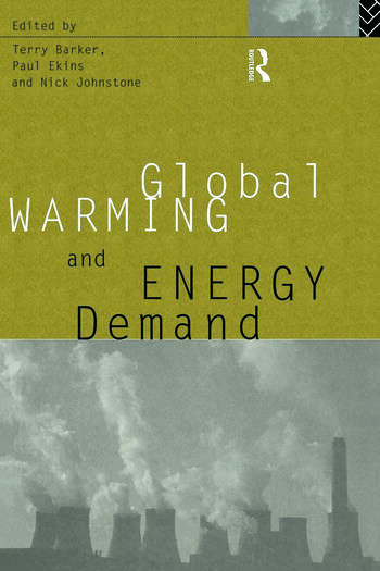 Global Warming and Energy Demand book cover