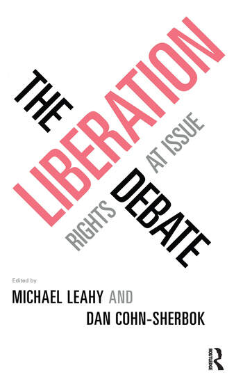 The Liberation Debate Rights at Issue book cover