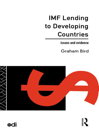 IMF Lending to Developing Countries Issues and Evidence book cover