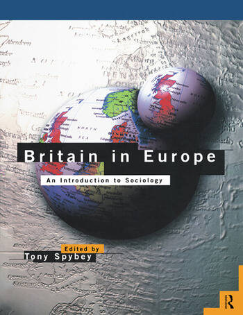 Britain in Europe An Introduction to Sociology book cover