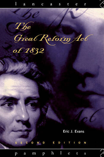 The Great Reform Act of 1832 book cover