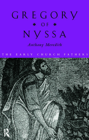 Gregory of Nyssa book cover