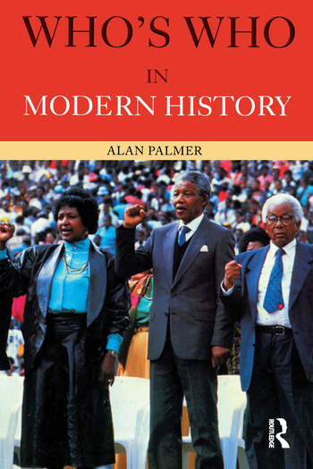 Who's Who in Modern History book cover