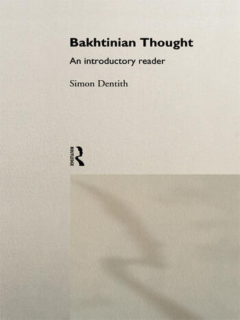 Bakhtinian Thought:Intro Read book cover