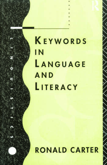 Keywords in Language and Literacy book cover