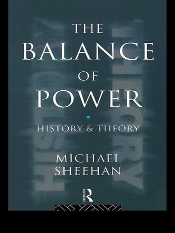 The Balance Of Power History & Theory book cover