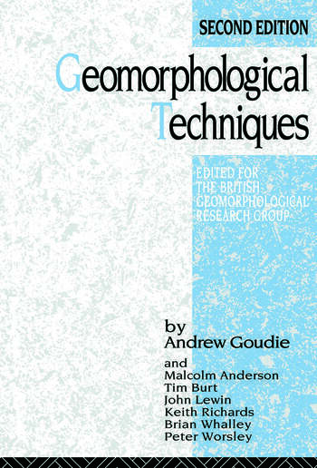 Geomorphological Techniques book cover