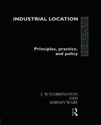 Industrial Location Principles, Practice and Policy book cover