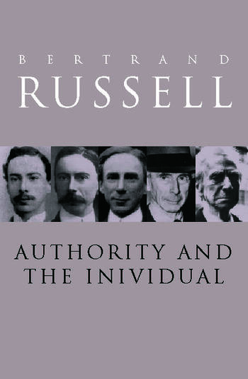 Authority and the Individual book cover