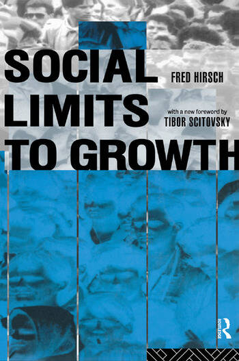 Social Limits to Growth book cover