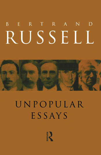unpopular essays  crc press book unpopular essays book cover