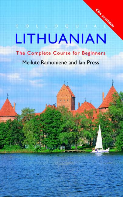 Colloquial Lithuanian The Complete Course for Beginners book cover
