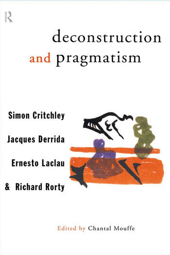 Deconstruction and Pragmatism book cover