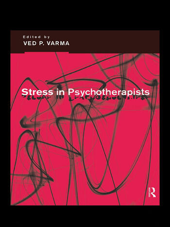 Stress in Psychotherapists book cover