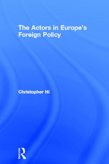 The Actors in Europe's Foreign Policy book cover