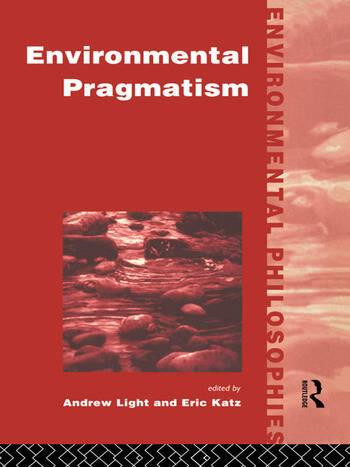Environmental Pragmatism book cover