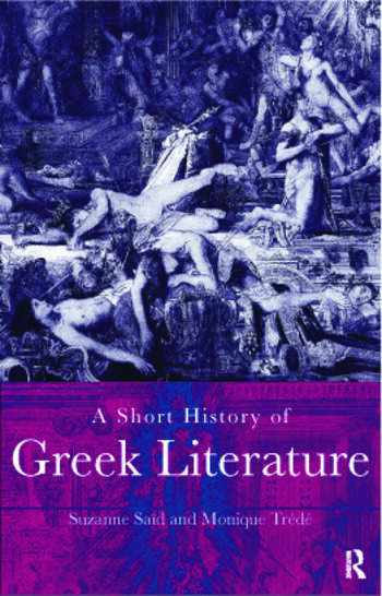 A Short History of Greek Literature book cover