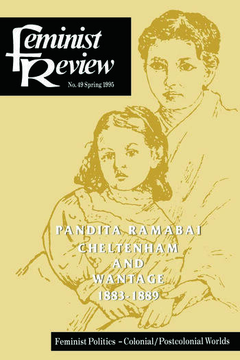 Feminist Review Issue 49 Feminist Politics: Colonial/Postcolonial Worlds book cover