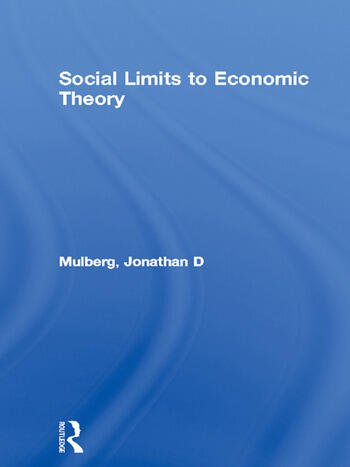 Social Limits to Economic Theory book cover