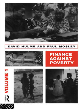Finance Against Poverty: Volume 1 book cover