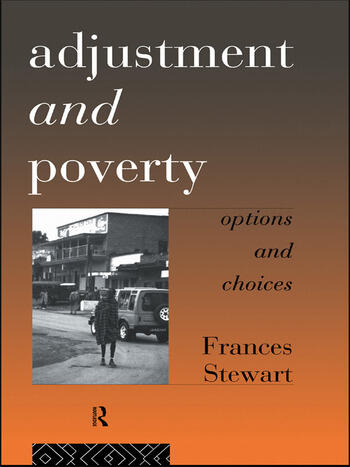 Adjustment and Poverty Options and Choices book cover