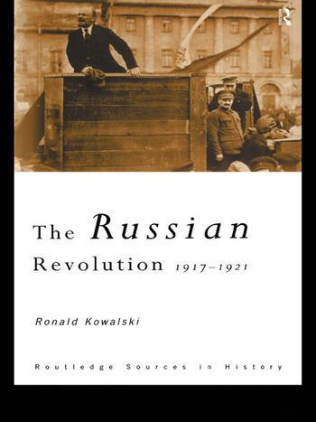 The Russian Revolution 1917-1921 book cover