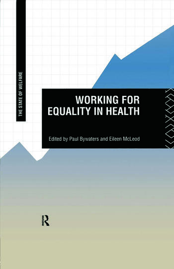 Working for Equality in Health book cover