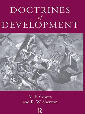 Doctrines Of Development book cover