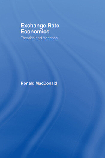 Exchange Rate Economics Theories and Evidence book cover