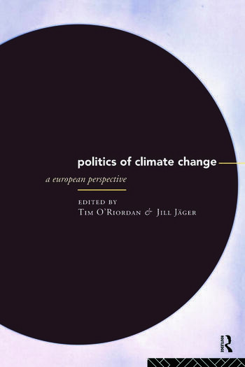 The Politics of Climate Change A European Perspective book cover