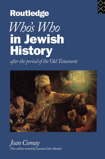 Who's Who in Jewish History After the period of the Old Testament book cover