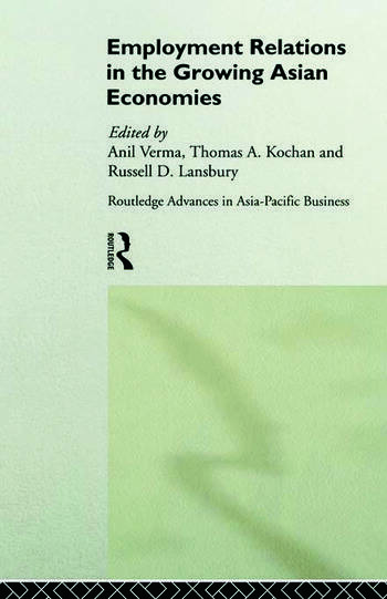 Employment Relations in the Growing Asian Economies book cover