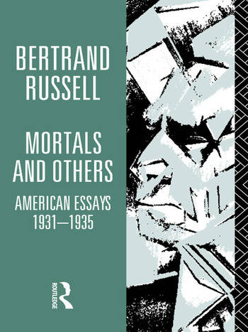 Mortals and Others, Volume I American Essays 1931-1935 book cover
