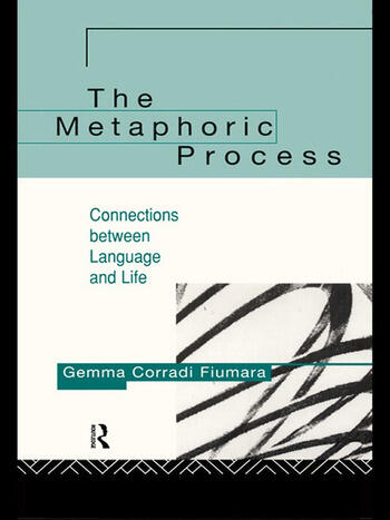 The Metaphoric Process Connections Between Language and Life book cover