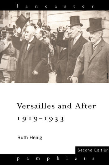 Versailles and After, 1919-1933 book cover