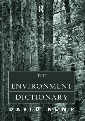 The Environment Dictionary book cover