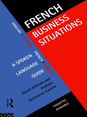 French Business Situations A Spoken Language Guide book cover