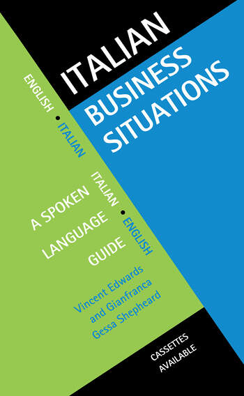 Italian Business Situations A Spoken Language Guide book cover