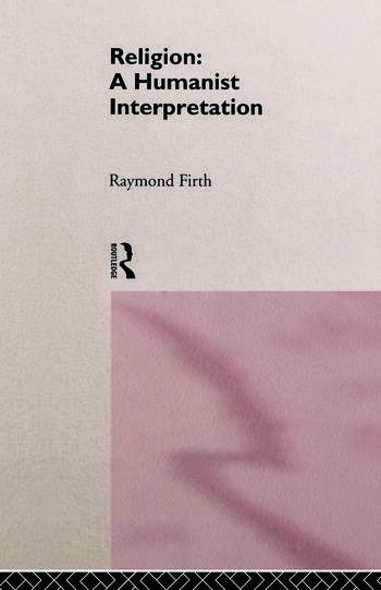 Religion: A Humanist Interpretation book cover