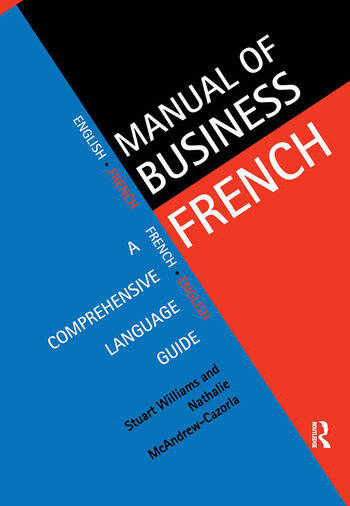 Manual of Business French book cover