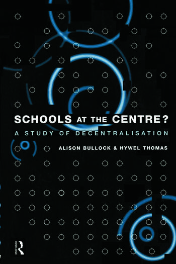 Schools at the Centre book cover