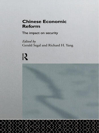Chinese Economic Reform The Impact on Security book cover