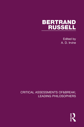 Bertrand Russell Critical Assessments book cover