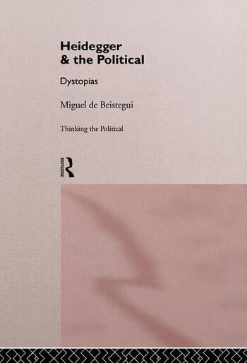 Heidegger and the Political book cover