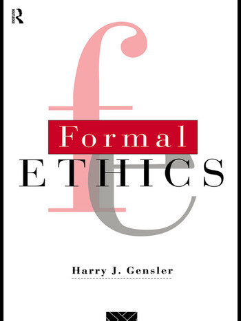 Formal Ethics book cover