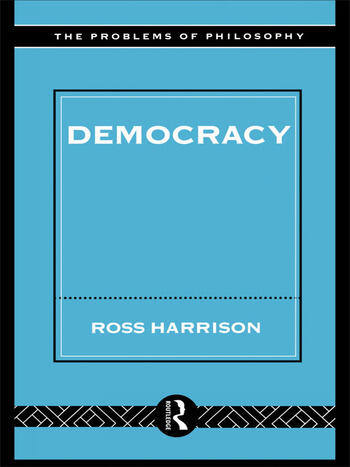 Democracy book cover