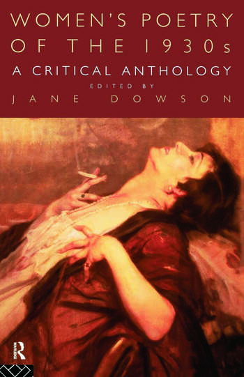 Women's Poetry of the 1930s: A Critical Anthology book cover
